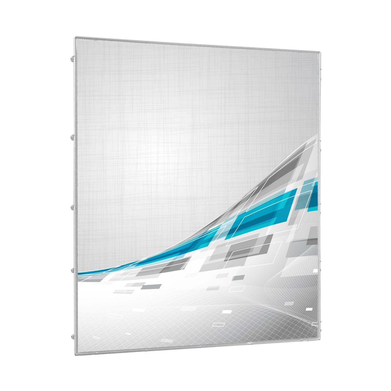Bannerrahmen aus Aluminium für die Wand
