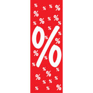 "Ceiling Hanger ""Percentage Symbol"", in paper"
