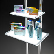 Illuminated Shelf Module for Magnetic Systems