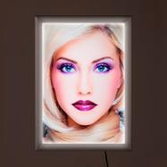 "LED Light Frame ""Simple"", single-sided"