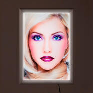 "LED Light Frame ""Simple"", single-sided"