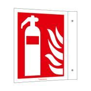 Fire Extinguisher Flag Sign