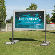 """Bannergear® Stand """"Mobile LED"""", 2-sided"""