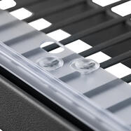 Clips for Promotional Risers and Divider Rails with Cutouts