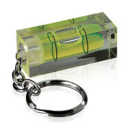 Keyring with Spirit Level
