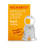"Shopping Trolley Release Key""Karl Home and Craftsman"""