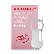 """Shopping Trolley Release Key """"Heart"""""""
