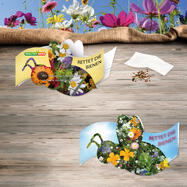"""Folding Card """"Save the bees"""""""