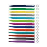 "Metal Twist Ballpoint Pen ""Brush Gum"