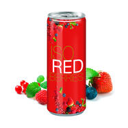 Iso Drink Redberries in a can