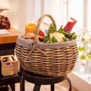 "Shopping Basket ""Shabby Charm"""