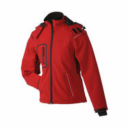 Ladies' Winter Softshell Jacket, waterproof waisted jacket for women