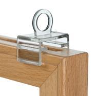 "Hanging Hooks for Wooden Showcard Frame ""Madeira"""