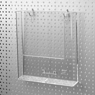 Pegwall Hook for Leaflet Dispenser