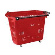 """Roller Basket """"Big"""" - Shopping Basket 42 litre, to pull"""