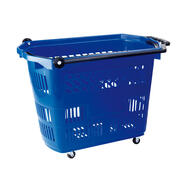 "Roller Basket ""Big"" - Shopping Basket 42 litre, to pull"