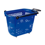 """Roller Basket """"Small"""", Shopping Basket 33 litres, to pull"""