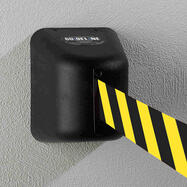 """Barrier Tape for Wall-Mounting """"Guide"""", 5 metre / 8 metre"""