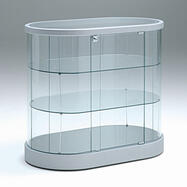 "Counter Showcase ""Oval"""