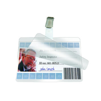 """Pockets for Name Badges """"ID Cards"""""""