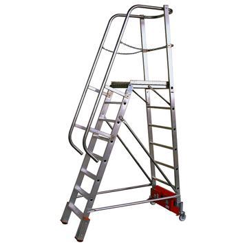 """Platform Ladder """"Vario"""" (Aluminium)"""
