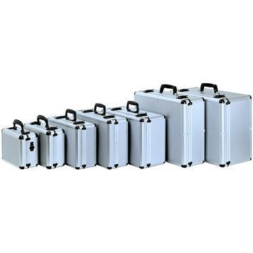 "Aluminium Case ""Topstar"" with Patterned Foam"