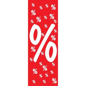 "Ceiling Hanger ""Percentage Symbol"", in paper"