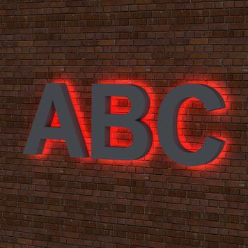 "Illuminated Letters ""Profile 3"""