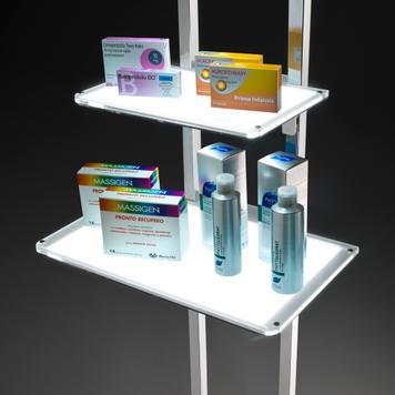 """LED Shelf for Floor Stand """"TS"""""""