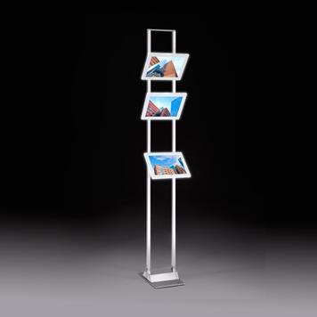 LED Magnetic Frame Slanted Holder