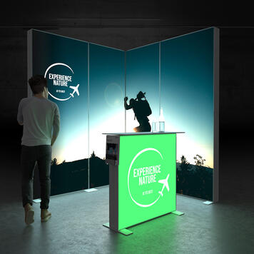 "Pixlip GO  LED Exhibition Stand  ""Stand ES2020"""