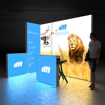 """Pixlip GO  LED Exhibition Stand  """"Stand ES3020"""""""