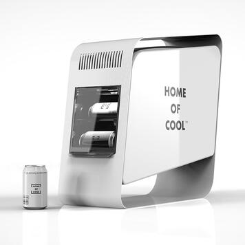 "POS Cooler ""Home of Cool"""