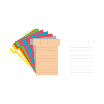 T-Cards for Writing On