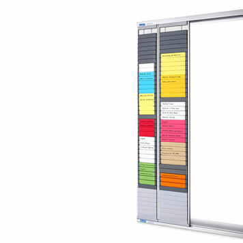 "Magnetic Holder for Timecard Board ""Flexible"""