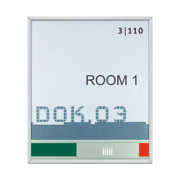 Door Sign New Age with Vacant/Occupied Indicator