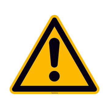 General Warning Sign