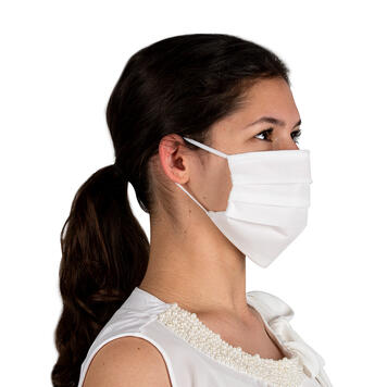Face Mask 100% non-woven fabric, 2-ply
