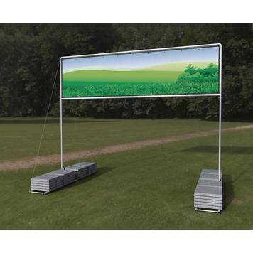 "Banner Frame Slot System Steel ""Vacant Mobile"""