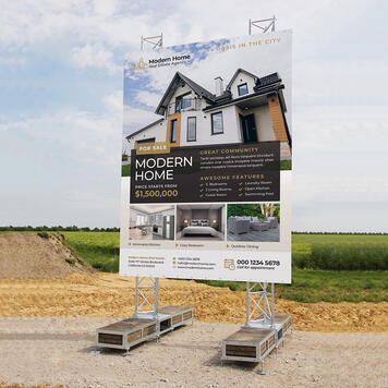 "Construction Sign Traverstar Outdoor ""Fascia II"""