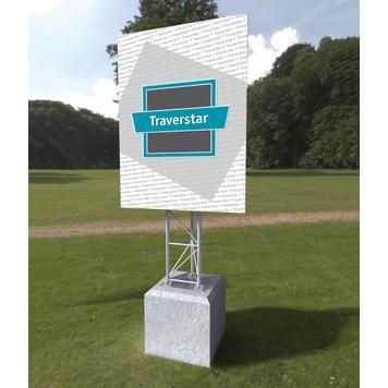 "Construction Sign Display Traverstar Outdoor ""Fascia"""