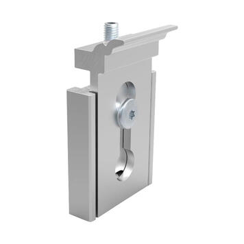 """Tensionable Wall Brackets for Keder Rail System """"Spider Wall II"""" and """"Cover"""""""