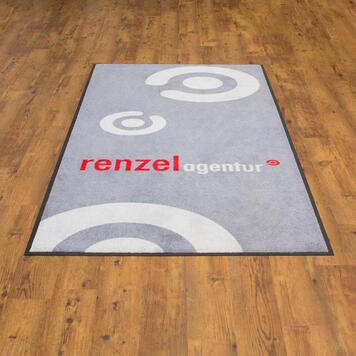 Washable Mat with Logo / Doormat