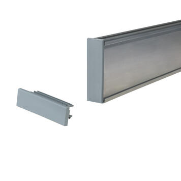 End Cap for Poster Rail, Square