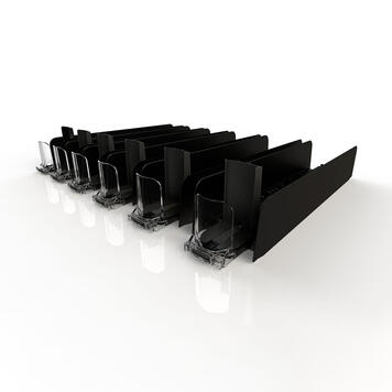 """Stock Pusher System """"Adjustable Tray"""""""