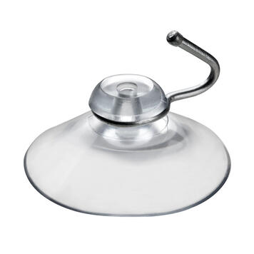 "Suction Cup with Hanging Hook ""Metal"""
