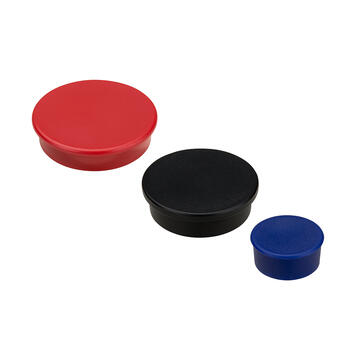 Round Magnet, coloured