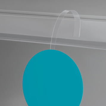 Transparent PVC Price Wobbler