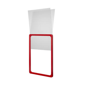 U-Pocket in Rigid PVC for Showcard Frames