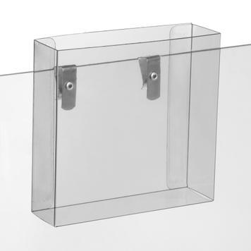 Hanging Leaflet Holder for Vertical Risers